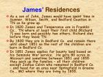 james residences