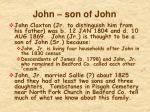 john son of john