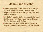 john son of john1