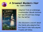 a drowned maiden s hair by laura schlitz