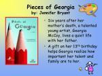 pieces of georgia by jennifer bryant