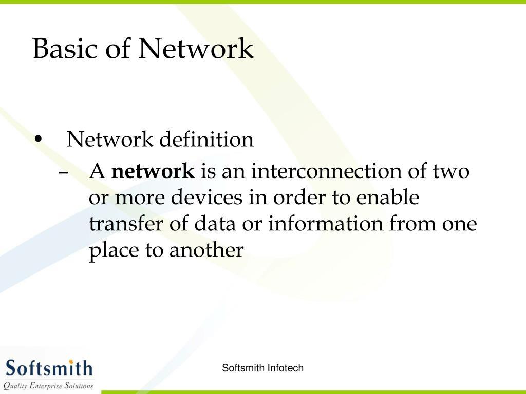 Basic of Network