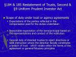 184 185 restatement of trusts second 9 uniform prudent investor act