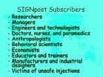 signpost subscribers1