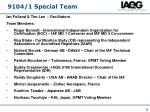 9104 1 special team