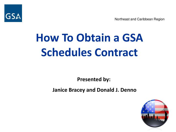 how to obtain a gsa schedules contract n.