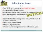 rules scoring system1