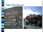 other businesses