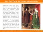 jan van eyck los esposos arnolfini