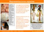 representaciones egipcias