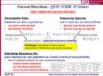 current directions quic cidr 07 demo