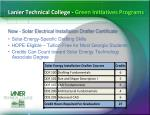 lanier technical college green initiatives programs2