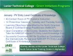 lanier technical college green initiatives programs3
