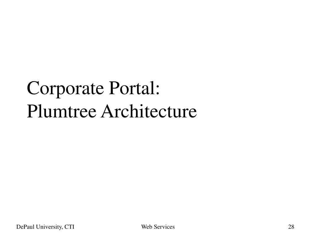 Corporate Portal: