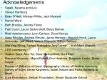 acknowledgements67