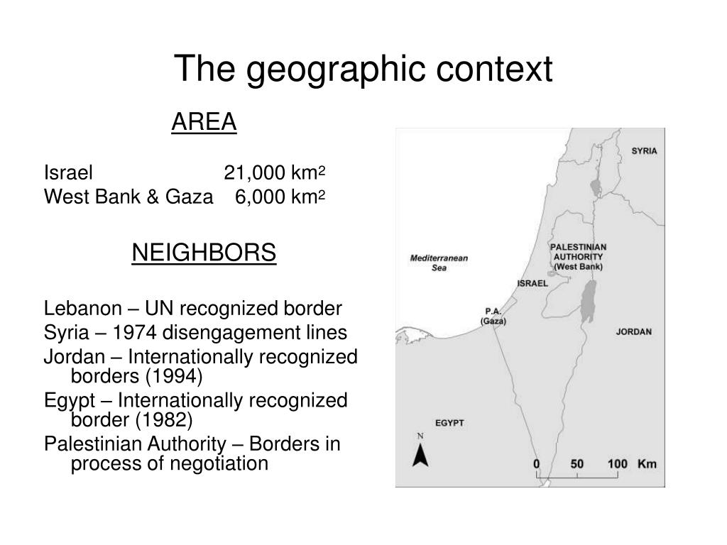 The geographic context