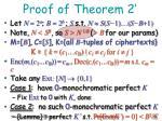 proof of theorem 21