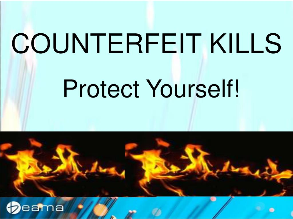 COUNTERFEIT KILLS