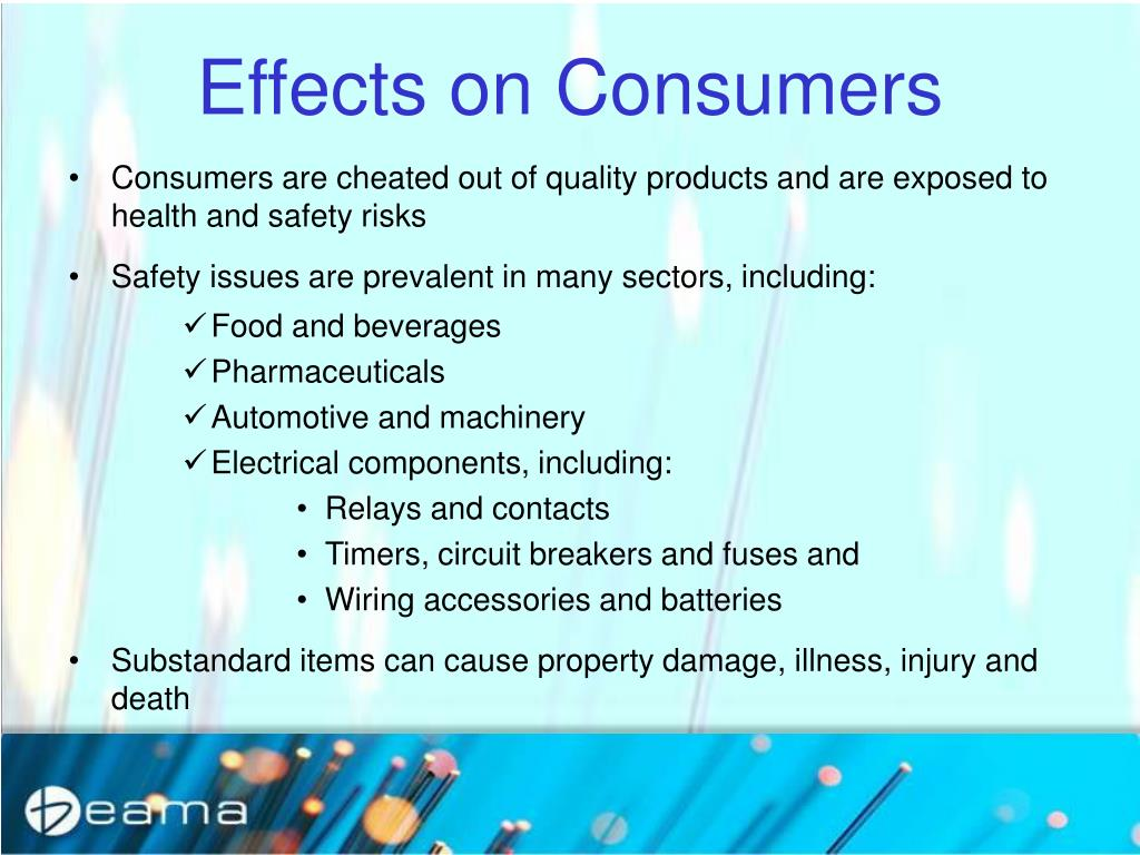 Effects on Consumers
