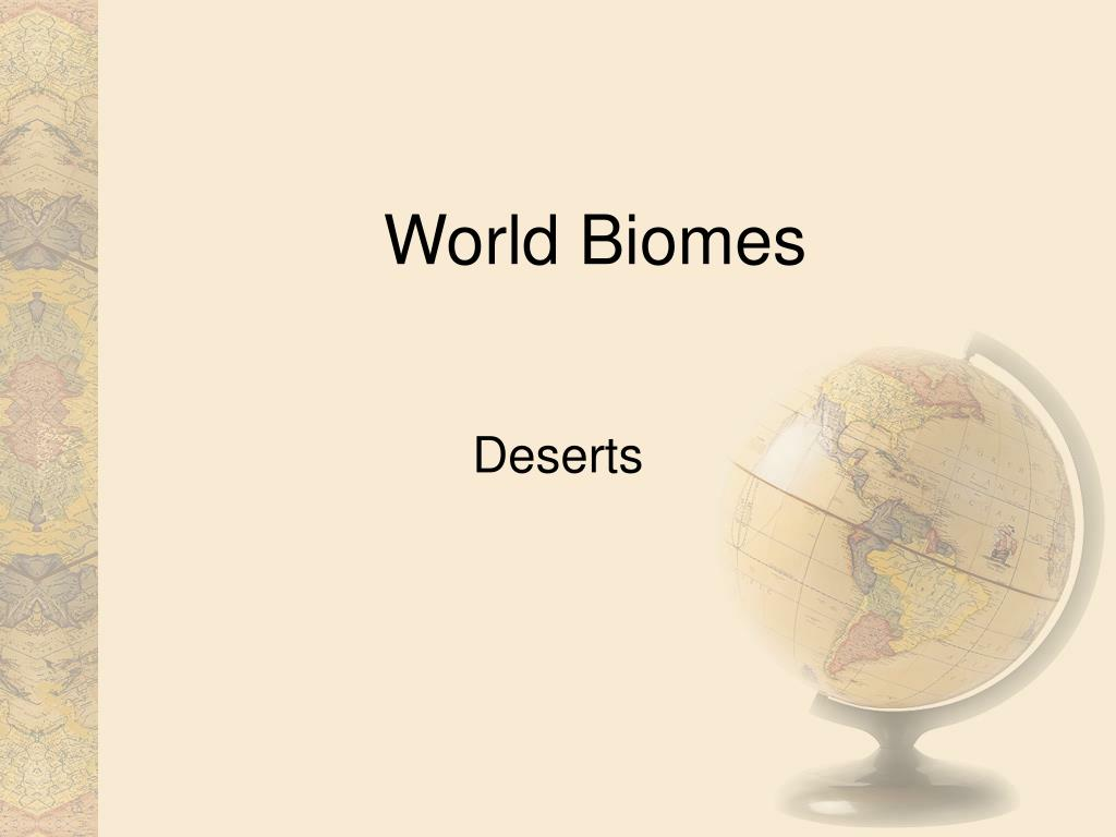 world biomes l.