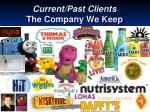 current past clients the company we keep