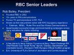 rbc senior leaders