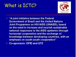what is ictc