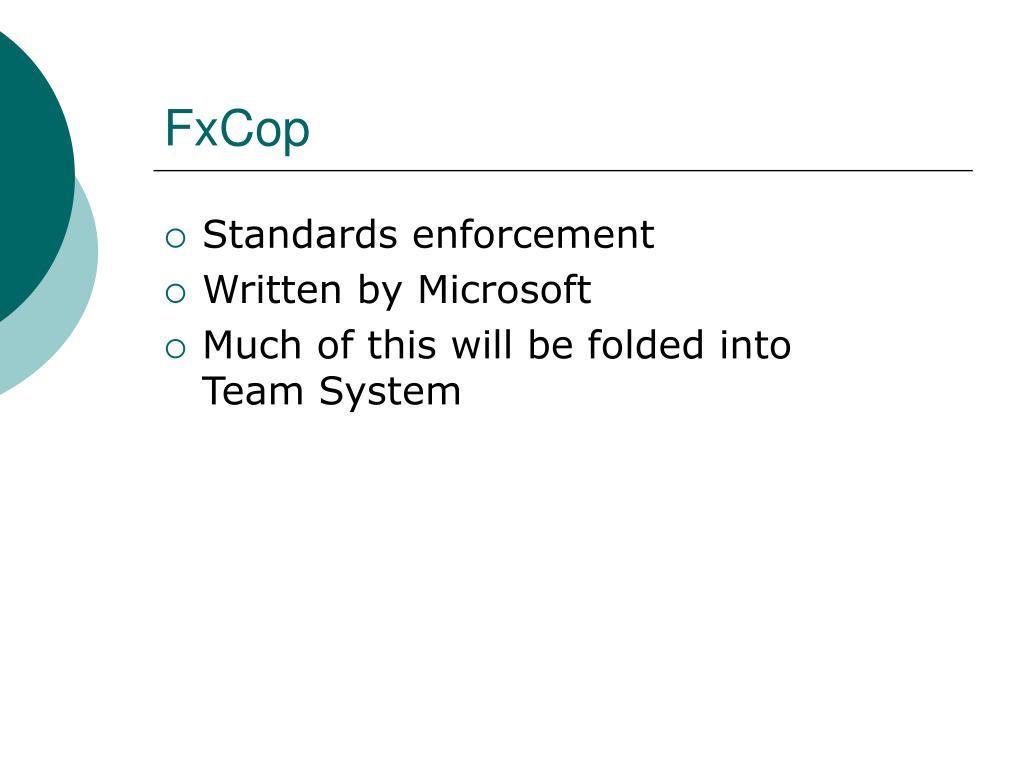 FxCop