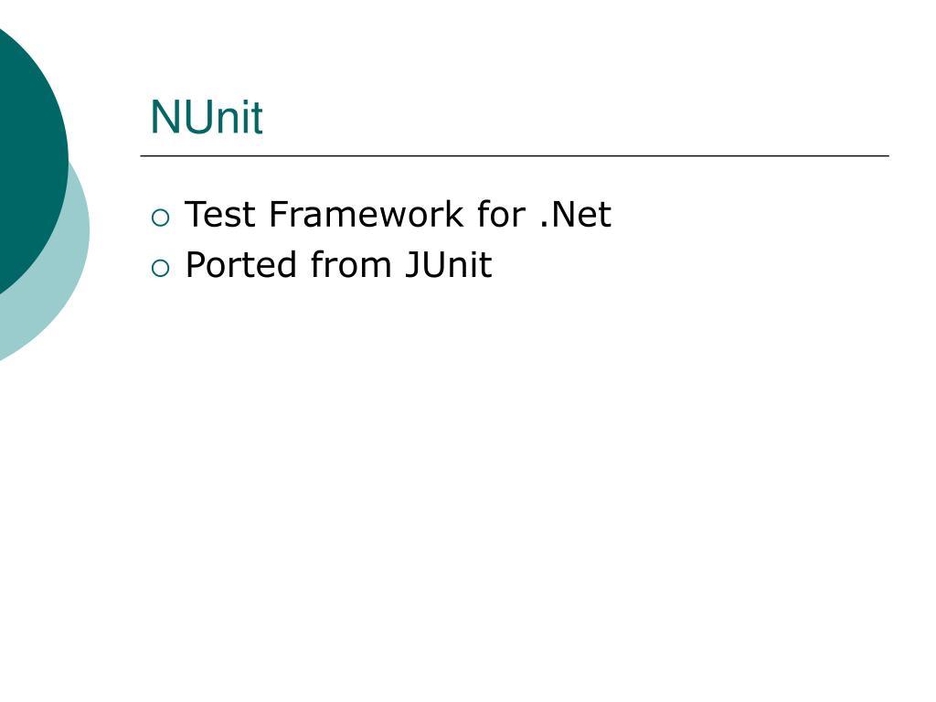 NUnit
