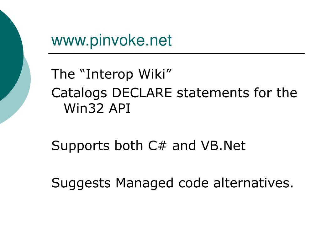 www.pinvoke.net