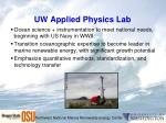 uw applied physics lab