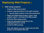 deploying web projects 2