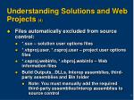 understanding solutions and web projects 4