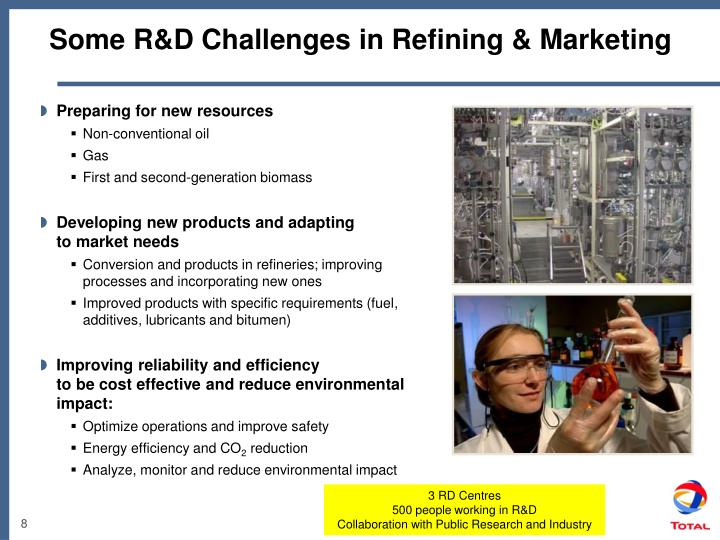 Some R&D Challenges