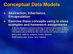 conceptual data models7