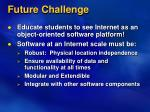 future challenge