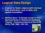 logical data design1