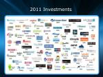 2011 investments