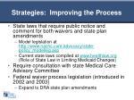 strategies improving the process