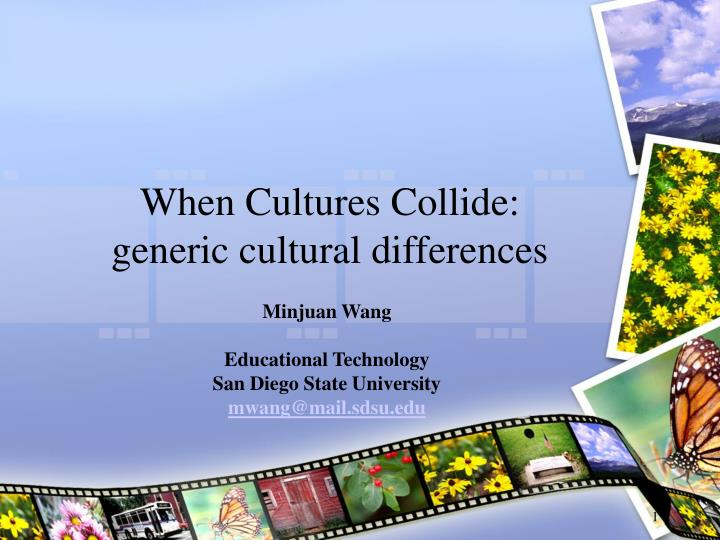 when cultures collide essay