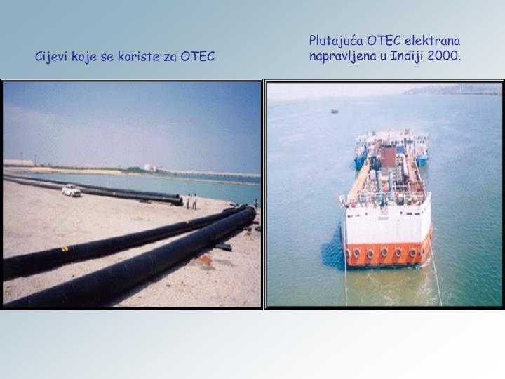 Plutajuća OTEC elektrana napravljena u Indiji 2000.