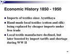 economic history 1850 195011