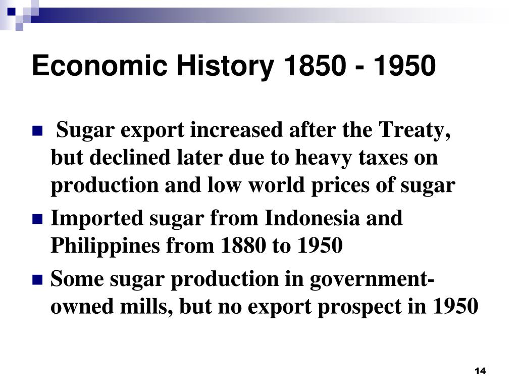 PPT - Economic History 1850 - 1950 PowerPoint Presentation