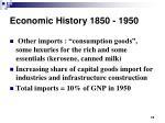 economic history 1850 195014