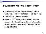 economic history 1850 195018