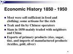 economic history 1850 19504