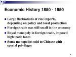 economic history 1850 19505