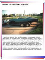 feature car dan funk s 67 marlin