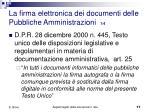 la firma elettronica dei documenti delle pubbliche amministrazioni 1 4