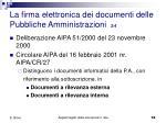 la firma elettronica dei documenti delle pubbliche amministrazioni 2 4
